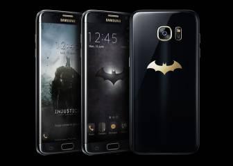 Viste a tu smartphone de Batman con esta edición especial del Samsung Galaxy S7 Edge