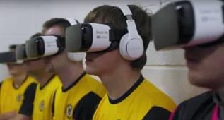 El peor equipo de futbol inglés se entrena con Realidad Virtual
