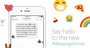 Saluda a los nuevos emojis para tu Facebook Messenger