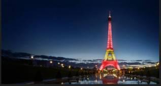 Apoya a tu selección por Twitter en la Eurocopa y verás tu mensaje en la Torre Eiffel