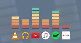Cómo personalizar el volumen de todas las apps de manera simultánea
