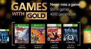 Juegos gratis en julio de 2016 en Xbox One y Xbox 360