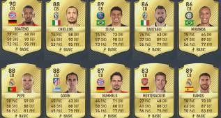FIFA 17: el mejor defensa del mundo es... ¡Boateng!