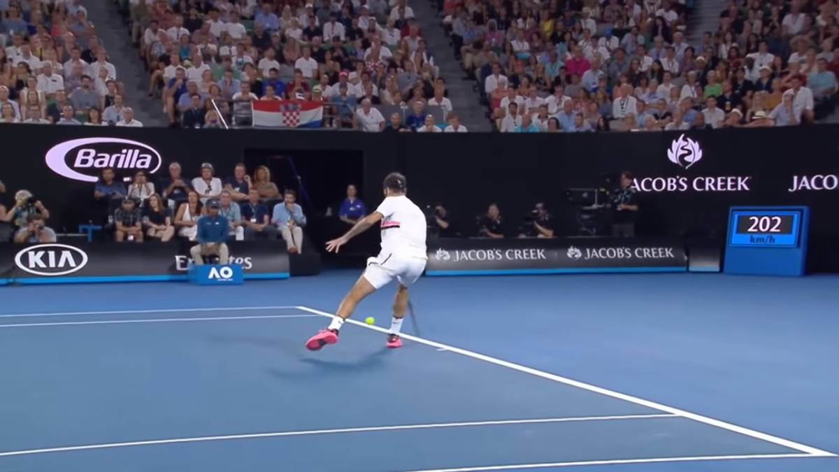 Pronto Golpeando Federer Federer A Golpeando Bote wFUqSXv