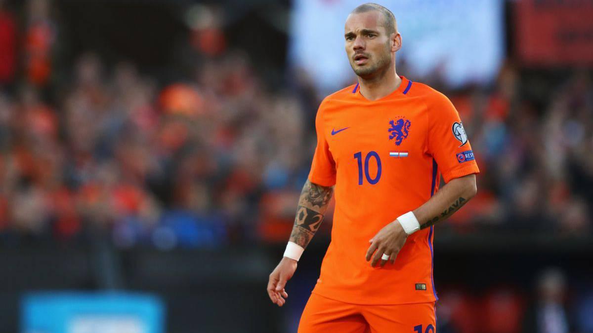 Resultado de imagen para wesley sneijder partidos con selección