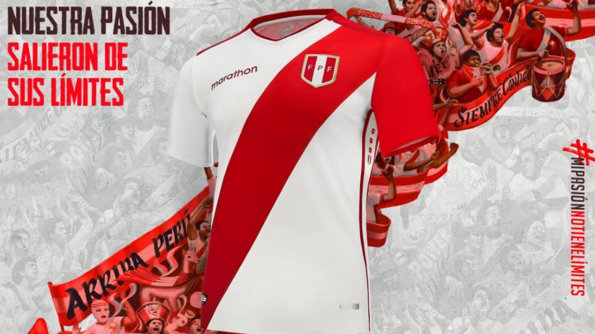 Perú ya tiene nueva camiseta - AS Perú 95a942d729a8c