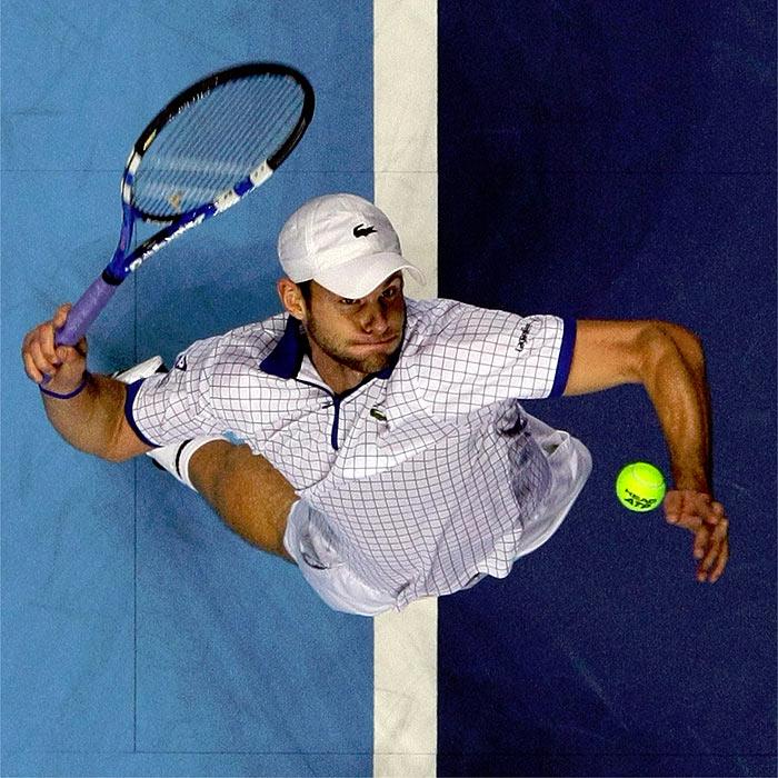 """Roddick: """"Rompí la raqueta porque estaba enfadado"""""""