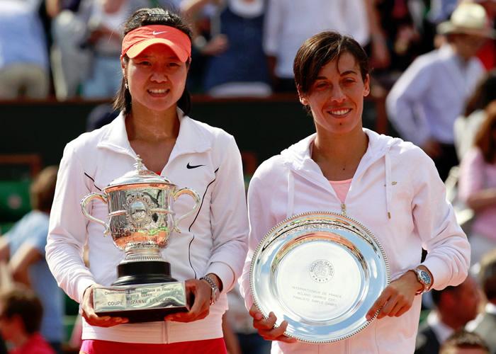 Na Li es la primera asiática en lograr un Grand Slam