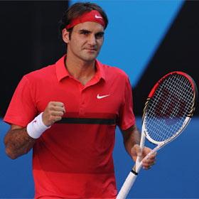 Federer se regala la semifinal en el partido 1000