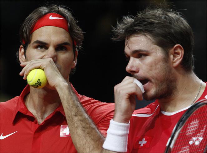 Estados Unidos elimina a la Suiza de Roger Federer