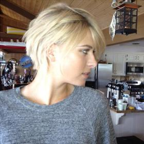 Sharapova cambia de 'look'