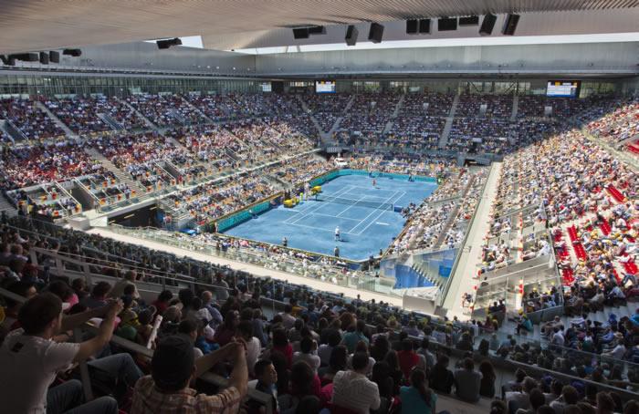 La ATP prohíbe la tierra azul de Madrid en 2013