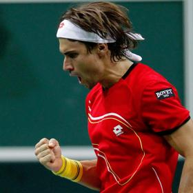 Ferrer gets Spain up and running