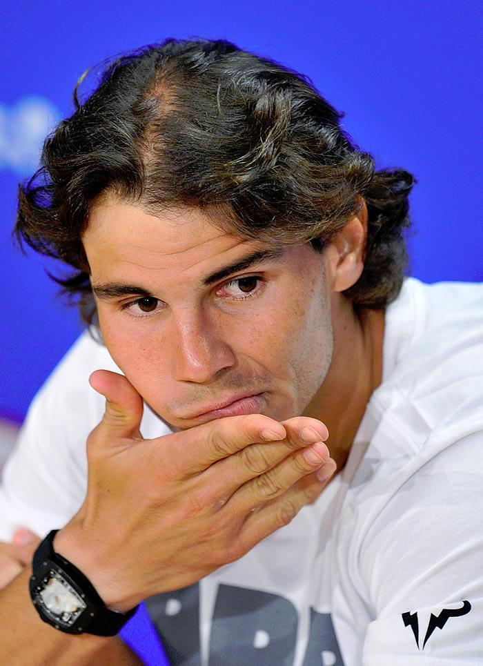 """Rafa Nadal: """"Volveré con la rodilla totalmente recuperada"""""""