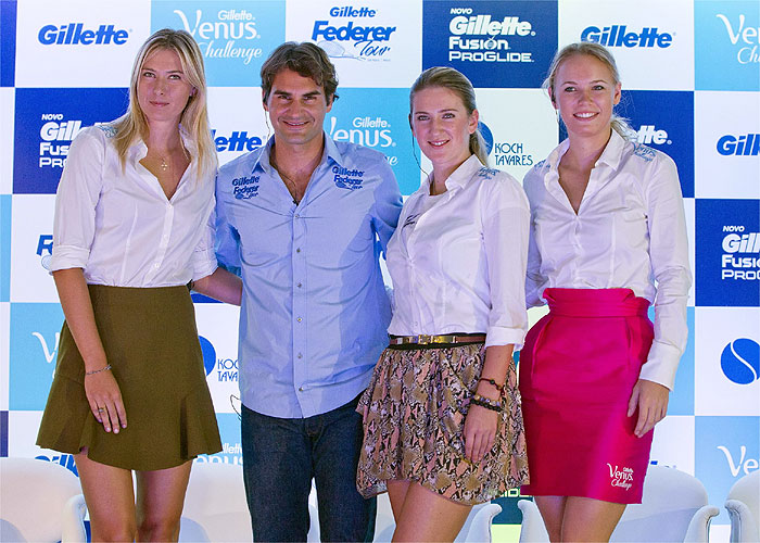 Federer mezcla nervios y ánimo para debutar en Brasil