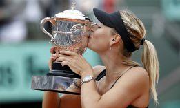 La rusa Maria Sharapova gana Roland Garros por primera vez