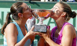 Sara Errani y Roberta Vinci se llevan su primer 'Grand Slam'