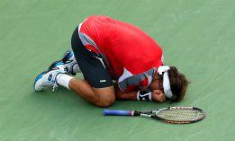 Los tornados y Djokovic barren el sueño de David Ferrer en NY