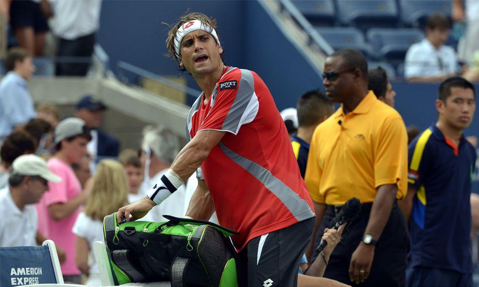 """Ferrer: """"Estoy muy feliz con lo conseguido en este US Open"""""""
