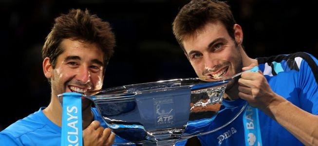 Marc Lpez y Granollers, maestros antes de la Davis