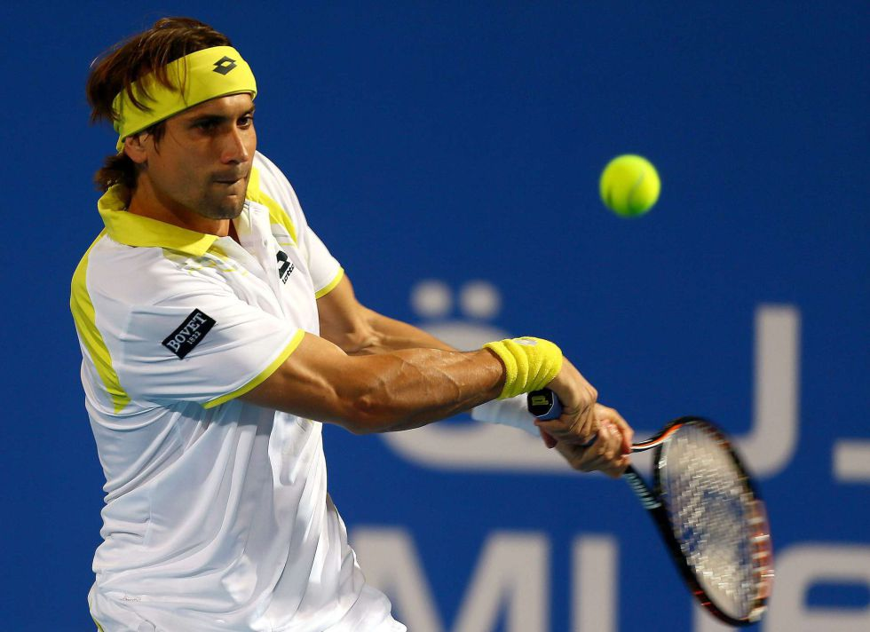 Djokovic arrasa a Ferrer y se mete en la final de Abu Dhabi