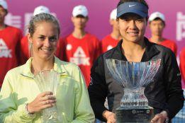 Na Li conquistó en su país, su séptimo título WTA