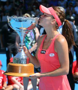Radwanska consigue el undécimo título de su carrera