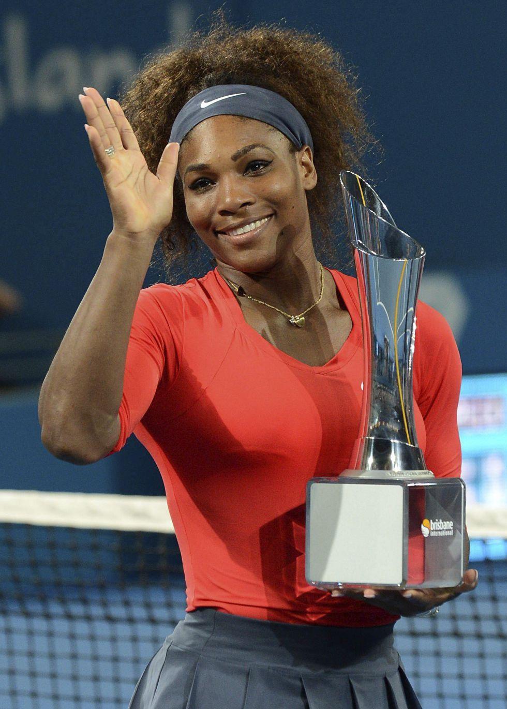 Serena Williams arrolla a Pavlyuchenkova en la final