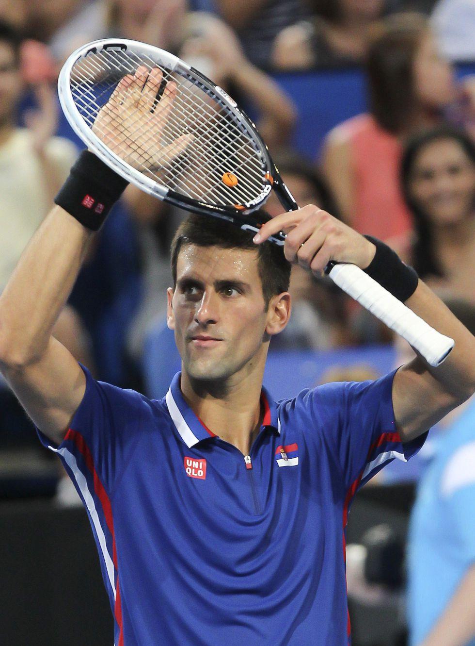 Djokovic suma el primer punto ante un duro Fernando Verdasco