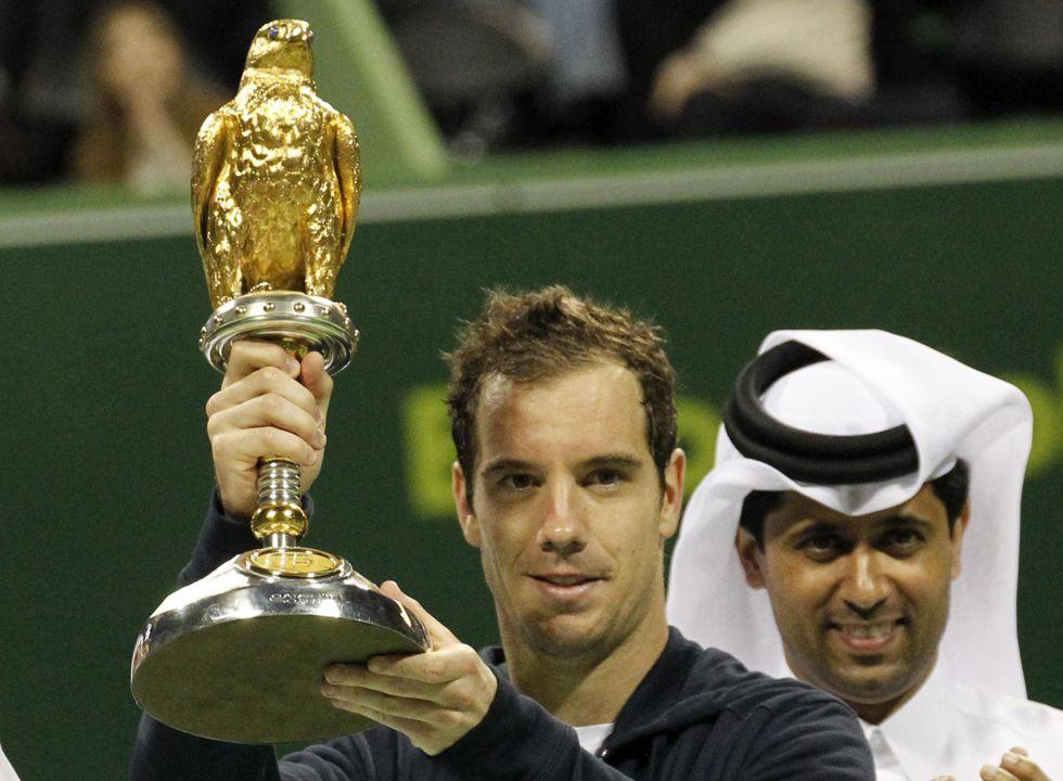 Gasquet tumba a Davydenko y gana en Doha su octavo torneo