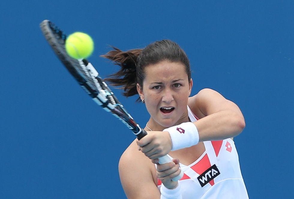 Olga Govortsova elimina a Carla Suárez en primera ronda