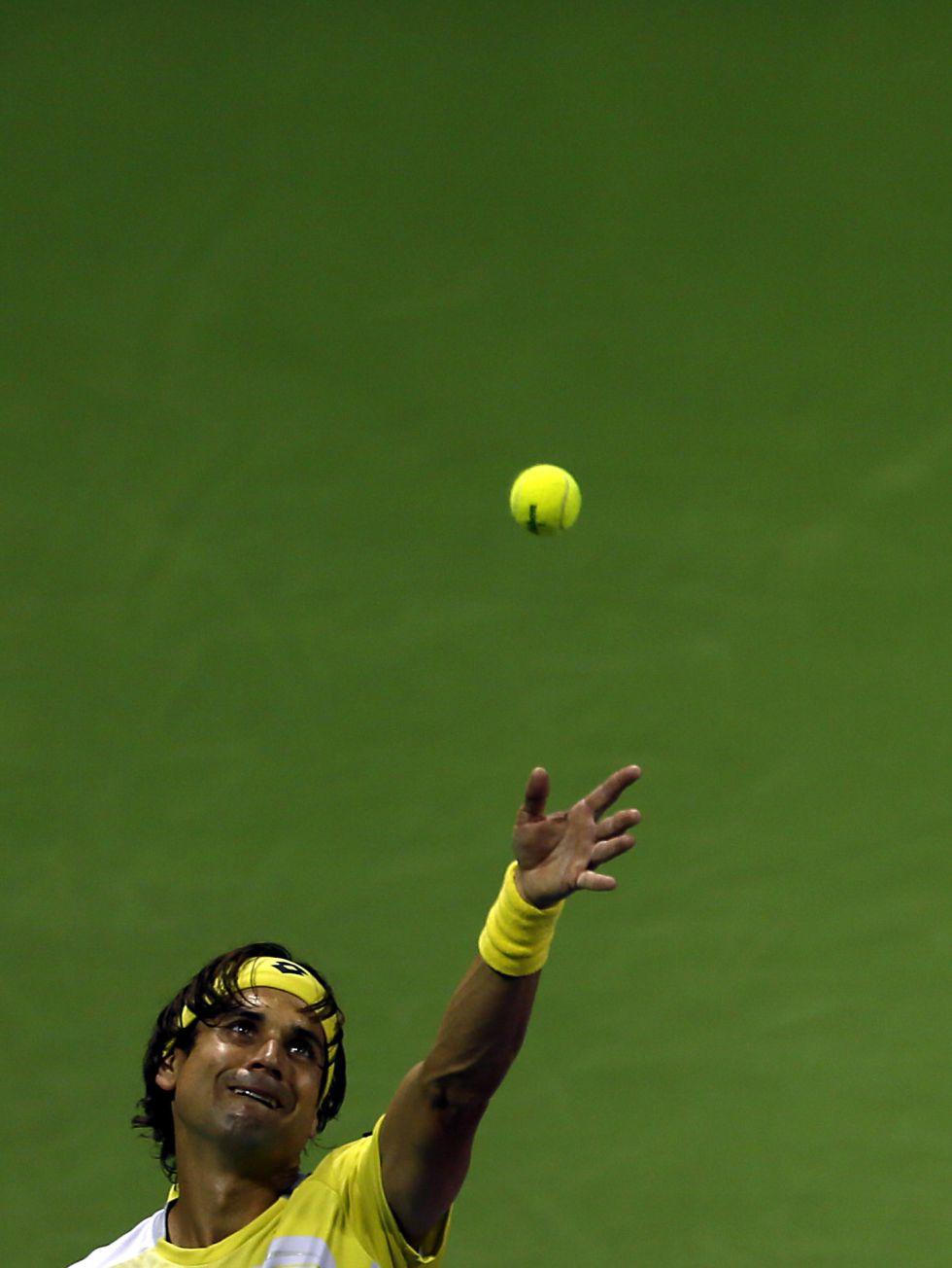 Ferrer sufre ante el taiwanés Lu para pasar a cuartos de final
