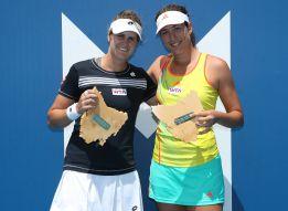 Muguruza y María Teresa Torró campeonas en dobles