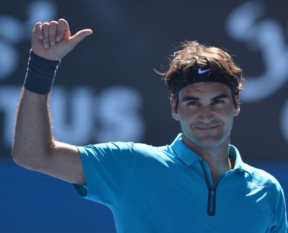 Paire no fue rival para Federer