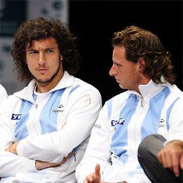 Nalbandian y Mónaco, líderes de Argentina para la Copa Davis