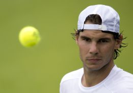 Rafa Nadal jugar dobles con Juan Mnaco en Via del Mar