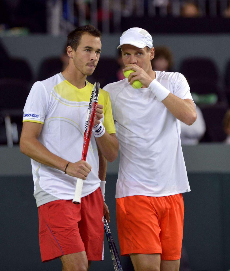 El dobles entre Chequia y Suiza, el partido más largo de la Davis