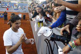 "Rafa Nadal: ""Espero jugar a un nivel aceptable en Chile"""