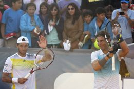 """Rafael Nadal: """"No hay miedo, aunque la rodilla me duele"""""""