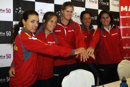 Lourdes Domínguez y Svitalina abrirán el sábado la eliminatoria