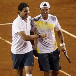 Rafa Nadal gana en dobles y pasa a la final en Viña del Mar