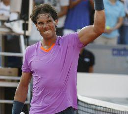 Rafa Nadal llega a la final de dobles junto a Juan Mónaco