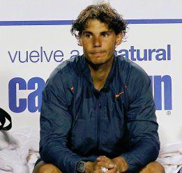 """Rafael Nadal: """"Me falta energía y potencia en las piernas"""""""
