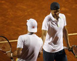 Rafa Nadal pierde también la final de dobles en Viña del Mar