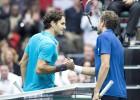 Benneteau sorprende a un desconocido Federer