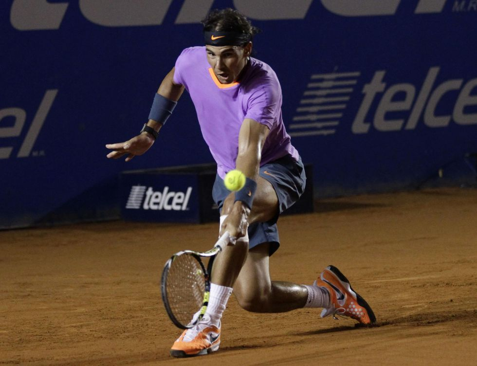 """Rafa Nadal: """"Hace tres días que la rodilla ya no me duele"""""""