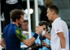 Berdych se carga a Murray y Wawrinka derrota a Tsonga