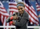 "Serena: ""Es un honor estar al mismo nivel que Federer"""
