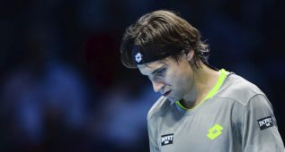 "David Ferrer: ""No hubo partido"""