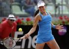 Carla Suárez cae ante Ivanovic en un magnífico partido